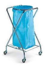 Chariot X ramassage déchets pour sacs 110-130L DME