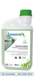 INOV'R N FLORAL Ecolabel Flacon Doseur 1L