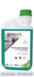 INOV'R ODOR AGRUME Ecolabel Flacon Doseur 1L