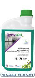 INOV'R ODOR FRUITS ROUGES Ecolabel Flacon Doseur 1L