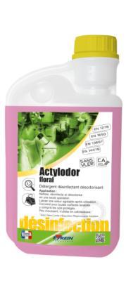 ACTYLODOR FLORAL Flacon Doseur 1L