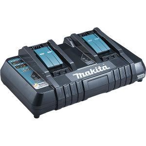 Chargeur rapide double Makstar 14.4 à 18 V Li-Ion DC18RD MAKITA